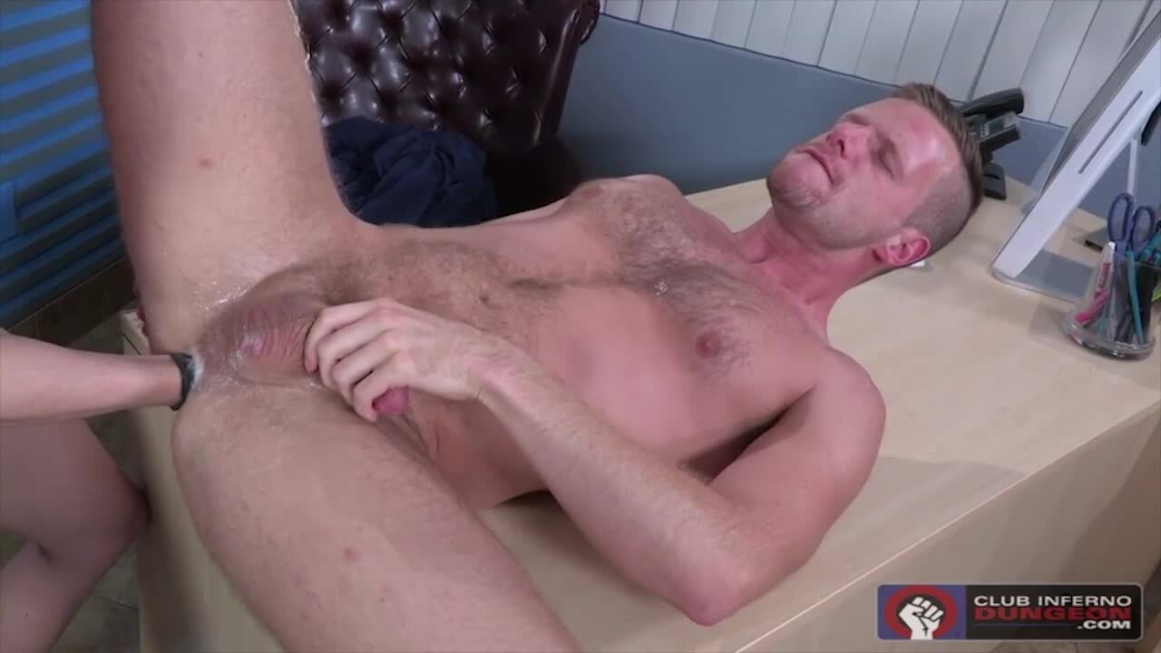 pounded fisting Twink office