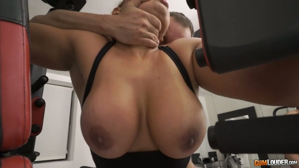 pounded party tits Gym